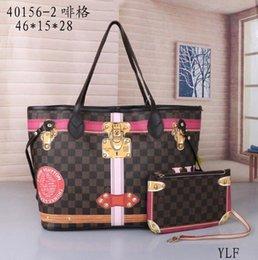 golf gps téléphone Promotion 2018 prix de gros en vente pu en cuir femmes marque de mode NEVERFULL MM GM épaule sac à provisions en plein air sac