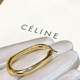 Orecchini d'oro a clip online-Orecchini donna in oro 18 carati Gioielli geometria Orecchini pendenti Charms Gioielli pregiati una vendita