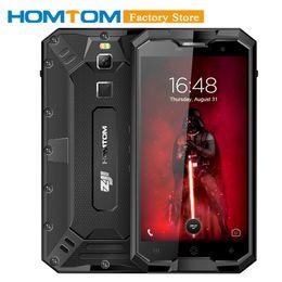 telefones tri-proof Desconto HOMTOM Zoji Z8 4250mAh 4GB 64GB IP68 Tri-prova 5inch Celular 1280 * 720P Fingerprint 4G Octacore 13 + 16MP Smartphone Camera