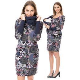 2c550328a4ac vestiti di moda per la gravidanza Sconti ENXI Moda Gravidanza Beastfeeding  Abiti Inverno Caldo maternità Infermieristica