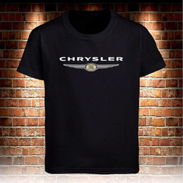 Camiseta negra Chrysler Truck Camiseta para hombre S a 3XL Camiseta de algodón de bajo precio para niños adolescentes Homme de alta calidad desde fabricantes