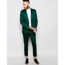 Costumi uomo spandex online-Ultimi Coat Pant Designs (Jacket + Pant) 2019 Nuovo arrivo Mens Abiti Tinta unita Lucido Vestito casual Blazer uomo Suit Costume Homme
