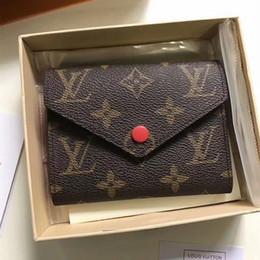 bolsos de cuero negro de china Rebajas cartera para hombre, para mujer, tarjetero de lujo, bolsos, tarjeteros de cuero, monederos negros, billeteras pequeñas, monedero de diseño, envío directo