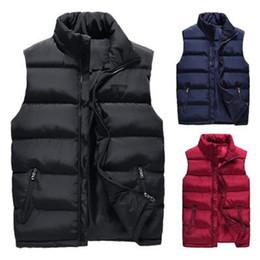 Argentina Chaqueta acolchada de invierno para hombre Calentador de cuerpo Calentador de la chaqueta acolchado sin mangas cálido Nuevo Suministro