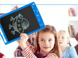 2019 compresse colorate Scrittura a mano da 10 pollici LCD colorato Tablet Tablet digitale disegno a mano Pads Scrittura elettronica Board Memo Message Board Schermo a colori compresse colorate economici