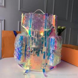 mochila menina azul claro Desconto 2019 pacote colorido estilo de qualidade superior dos homens de viagem saco de bagagem dos homens totes bolsa de couro duffle bag marca designer de moda mochila