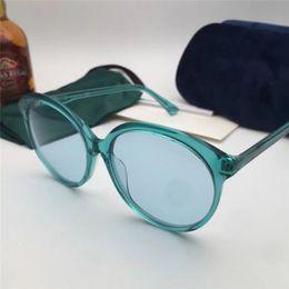 cc5707fc88c nouvelle mode femmes marque designer lunettes de soleil 0257 lunettes de  soleil cadre oeil de chat spectacle de mode design été style avec boîte