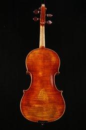 2019 partes de violino usadas Handmade violino bordo 4/4 antigo mate madeira maciça tigre naturais crianças de pintura padrão jujuba violino artesanal adulto jogando instrume musical