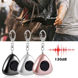 Persönlicher Alarm Safesound Keychain Mit LED-Licht 130 Db Notselbstverteidigungsselbstverteidigungsalarm im Freien keychain von Fabrikanten