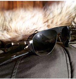 Очки видений онлайн-Лучшие роскошные K золотые мужские очки автомобильная марка Maybach vision модный дизайнер пилотная оправа очков верхняя наружная очки uv400 G-WG-Z36