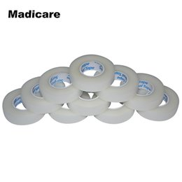 Canada 24 rouleaux de 1.25cm x 9.1m PE bande Micropore rouleau médical pour le corps épaule coude extensions de cils individuels # 278292 cheap eyelash extensions Offre