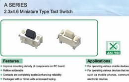 reisebegrenzte schalter Rabatt Micro SMD Tact Switch Seitentastenschalter 2.3 * 4.6 * 3.5 MM Für verschiedene mobile Tablet-Geräte