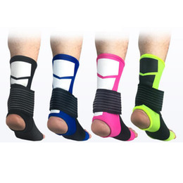 sports support bandages Coupons - Anti Sprain Sports Ankle Support Riding Protective Equipment Basketball Ankle Protector Breathable Twine Ankle Bandage ZZA634