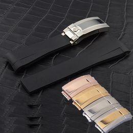 fibbia breitling Sconti Cinturini orologi di lusso alto acciaio Stee misura per i sub Watch. Pulsante nascosto gancio in pelle fibbia pieghevole Bracciale Chiusura