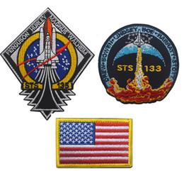 Canada États-Unis Découverte série d'engins spatiaux Patch NASA Timor tactique Patch navette spatiale Patch de broderie 100ème navette spatiale Brassard Offre