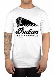 2019 indische logos Indisches Motorrad-klassisches Logo-T-Shirt ikonenhafter amerikanischer großer Geschenkidee Lustiges freies Verschiffen Unisex beiläufig günstig indische logos
