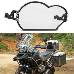 Black KIMISS Motorcycle Front Turn Signal Indicator Light Grill Protector Cover for R1200GS 2014-2017