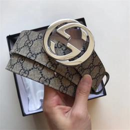 Cinture di design di alta qualità uomo moda Cintura di marca mens design Cuoio genuino Oro argento Aolly Buckle Cinture per uomo jk87a da allenatore di forma fisica fornitori