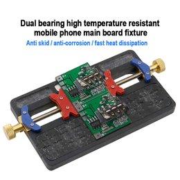 ferramentas Desconto Celular IC Chip Motherboard PCB Titular rolamentos de precisão Duplo Integrado de Manutenção do dispositivo elétrico de alta temperatura Ferramenta