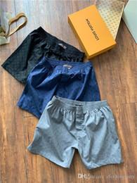 5894440ef74e28 19ss New Arrvial Paris L boxing Shorts Pants elastic waist track V Trousers  Casual sport Jogger Sweatpants Outdoor Short Shorts