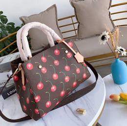 2019 bolso bandolera elemento Diseñador de la marca de diseño elemento de bolso de la señora de la moda bolso de las mujeres bolsa de fruta de alta calidad bolso de diseño 34 * 25 CM bolso bandolera elemento baratos