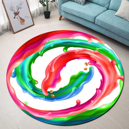 2019 красные круглые коврики LB Red Green Blue Pink Fuel Round Memory Foam Area Rug And Carpet for Kids Home Living Room Bedroom Cushion Bathroom Floor Mat дешево красные круглые коврики