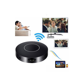 Finestre del ricevitore online-Spedizione gratuita WIFI Display Dongle, WiFi Wireless 1080P Mini Display Ricevitore HDMI TV / AV Miracast DLNA Airplay per IOS / Android / Windows / Mac