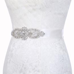 Boutique di cristallo online-Glitter ragazze strass cintura boutique bambini in rilievo strass cristallo principessa cintura da sposa accessori da sposa 18 design KKA7086