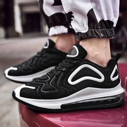 calzado para correr Rebajas COOLVFATBO Nuevos zapatos para correr para hombres Air Cushion Mesh Respirable y resistente al desgaste 720 Fitness Trainer Calzado deportivo Hombre Zapatilla de deporte