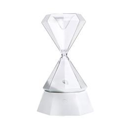 2019 luzes da noite de mesa Colorido USB Diamante Ampulheta Tátil Night Lamp Tabletop Decorações Dia Dos Namorados Presente Luz luzes da noite de mesa barato