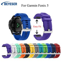 2019 быстрый ремень Multicolor silicone replacement strap for Garmin Fenix 5/5 plus Smart Wrist Band Quick Release Watch wrist band 12 colors 22mm скидка быстрый ремень