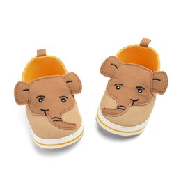 elephant shoes Coupons - Newborn Baby Boys Elephant Cartoon Anti-Slip infant baby boys girls Soft Sole casual shoes #XTN