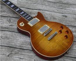 Personalizada guitarra eléctrica calidad guitarras de limón da