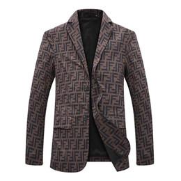 anzug mantel stile Rabatt 2020Wholesale neues Paris Stil Herrenanzug geeignet für Bankett, Jacke Empfang Anzug hohe Qualität Herren Mantel Blazer