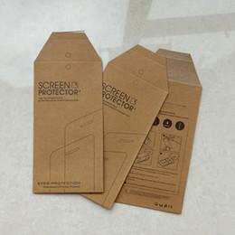 Canada Boîte de paquet de vente au détail vide universelle de verre trempé 9H pour iPhone 8 7 6 6 s plus 5 5S SE boîte de verre de téléphone mobile Offre