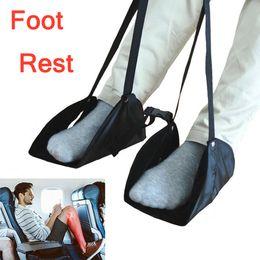 2019 hamaca de pie Nuevo reposapiés Colgador cómodo Reposapiés de viaje para avión Hamaca fabricada con espuma de memoria hamaca de pie baratos