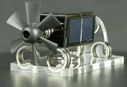 Levitazione magnetica solare Sospensione magnetica orizzontale a quattro lati Motore solare Stirling Motore Modello di educazione Regalo di scienza creativa da