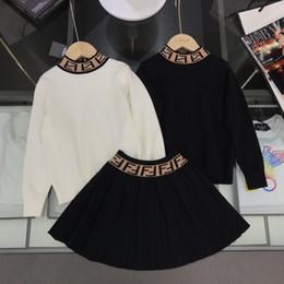 koreanische pullover mädchen Rabatt Zweiteilige Outfits 2019 Anzug Korean Kinder Mädchen Sportbekleidung Twinset Baby-Kind-Kleidung Set Short Sleeve Pullover Kleidung Jungen 092004