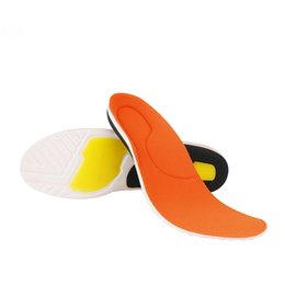 Арка поддерживает опорно-двигательный аппарат стопы онлайн-High Quality PU Orthotics Insole for Flat Foot Arch Support Orthopedic Insoles Men and Women Corrector Shoe Cushion Insert Pad