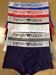 corti lunghi di nuotata Sconti 2019 New Man Boxer Shorts Sexy Mutande Giovane Morbido Confortevole Moda Elastic Famous Brand Boxer Underwear For Men 6 colori
