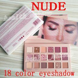 palette de maquillage NUDE 18 couleurs ombre à paupières Palette beauté visage Shimmer Matte ombre à paupières poudre pressée Top qualité Livraison gratuite ? partir de fabricateur