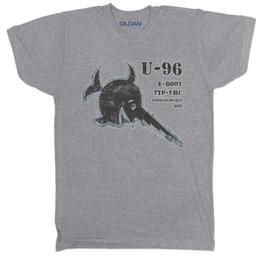 DAS BOOT U 96 DEUTSCH DEUTSCHLAND U BOOT WELTKRIEG FILM SUBMARINE T SHIRT 100% Baumwolle T-Shirt, Tops Großhandel T-Shirt von Fabrikanten