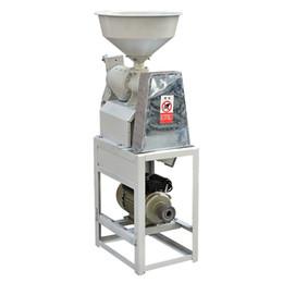 Рисовые раковины онлайн-2.2KW электрическая фрезерный станок для рисовых полей Hudler Рисовая машина для шелушения риса шелушение с двигателем 1460r / мин