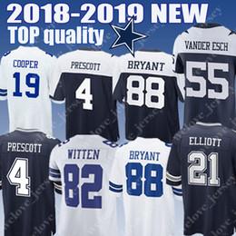 4fa4c88e Cowboys Dallas Jersey 4 Dak Prescott 21 Ezekiel Elliott 82 Jason Witte 90 DeMarcus  Lawrence Men's football jerseys good edition discount jersey cowboys