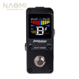 NAOMI AROMA AT-07 Accordeur chromatique miniature Pédale d'effet guitare électrique effets haute qualité guitare pièces accessoires nouveau ? partir de fabricateur