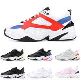 premium selection cdf49 d58f8 Designer M2K Tekno Men Running Shoes for Women sports Sneaker Black Volt Pure  Platinum Trainer Sports Mens Athletic Jogging Shoe size 36-44 donne nere di  ...