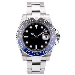tipos de relojes marcas Rebajas Reloj de lujo para hombre Reloj de lujo Greenwich II series 2813 Sports Automatic Machinery Reloj impermeable Tipo rotativo Palabra círculo Marca Reloj de pulsera