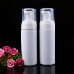 Garrafa de espuma azul on-line-200pcs / lot 150ml PET de plástico espuma Mão Soap Dispenser 5 oz claro / branco / Blue Bottle bomba de espuma