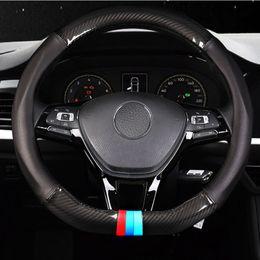2019 vw golf gti volante Tampa do volante do carro para VW Golf 7 GTI GTE Golf R 7 VW Polo GTI fibra de carbono Jetta Sporty tampa do volante vw golf gti volante barato