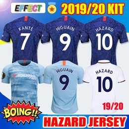 827a1969b Thailand 2020 HAZARD HIGUAIN Soccer Jersey adult Kit 4th Third 2018 2019  GIROUD PULISIC 19 20 KANTE Willian DAVID LUIZ football kids shirts  affordable miami ...